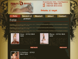preludemasaj.ro screenshot