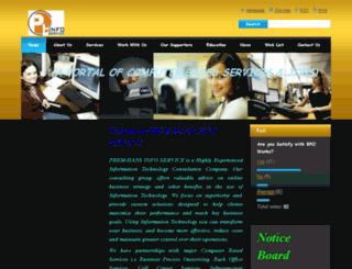 prem-hansinfoservice.webnode.in screenshot