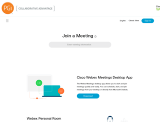 premconf.webex.com screenshot