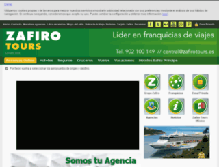 premia.zafirotours.es screenshot