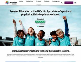 premier-education.com screenshot