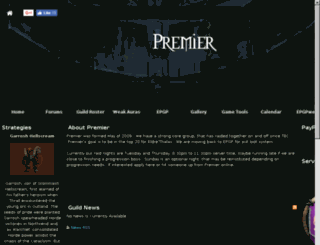 premier-guild.com screenshot