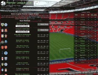 premier-league-live.net screenshot