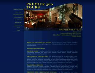 premier360tours.com screenshot