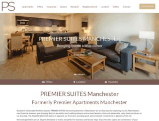 premierapartmentsmanchester.com screenshot
