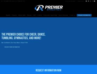 premierathletics.com screenshot