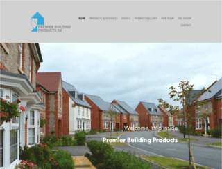 premierbuildingproducts.co.uk screenshot