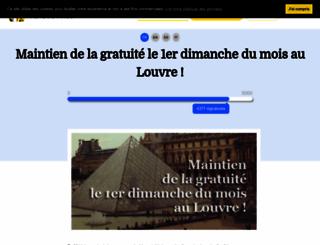 premierdimanchedumoisgratuitaulouvre.wesign.it screenshot