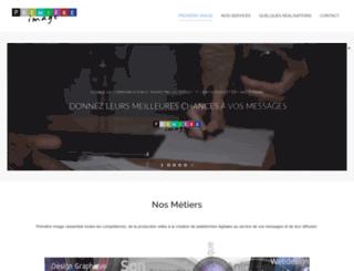 premiere-image.fr screenshot