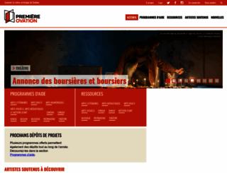 premiereovation.com screenshot