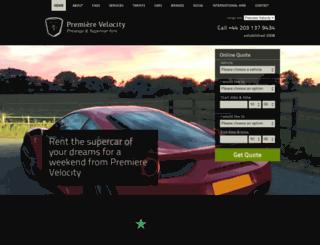 premierevelocity.com screenshot