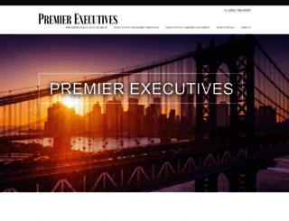premierexecutives.net screenshot