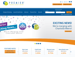 premierfcu.org screenshot