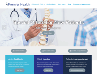 premierhealthmn.com screenshot