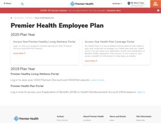 premierhealthplan.org screenshot