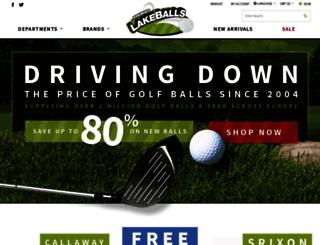 premierlakeballs.com screenshot