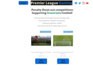 premierleaguegaming.co.uk screenshot