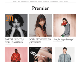 premiermodelstyle.com screenshot