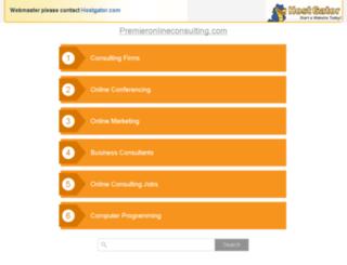 premieronlineconsulting.com screenshot