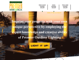 premieroutdoorlighting.com screenshot