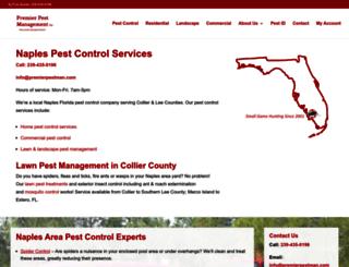 premierpestman.com screenshot