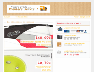 premiers-servis.fr screenshot