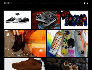 premierskateboarding.com screenshot