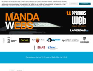 premiosweb.laverdad.es screenshot