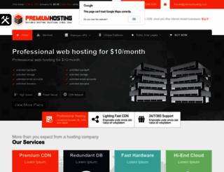 premium-hosting.webfactoryltd.com screenshot