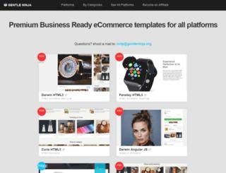 premium-templates.org screenshot
