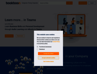 premium.bookboon.com screenshot