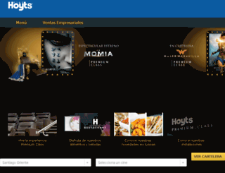 premium.cinehoyts.cl screenshot