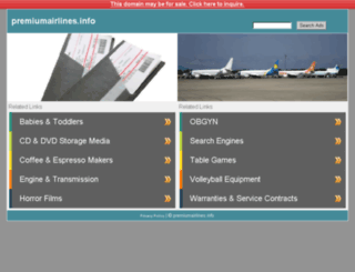 premiumairlines.info screenshot
