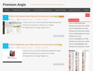 premiumangle.com screenshot