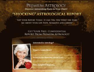 premiumastrology.com screenshot