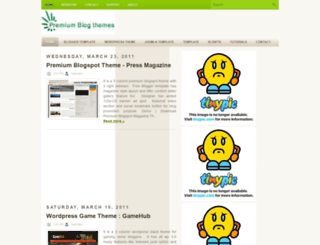 premiumblogthemes.blogspot.com screenshot