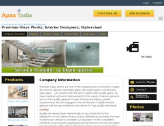 premiumglass-hyderabad.apnaindia.com screenshot