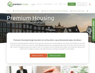 premiumhousing.nl screenshot