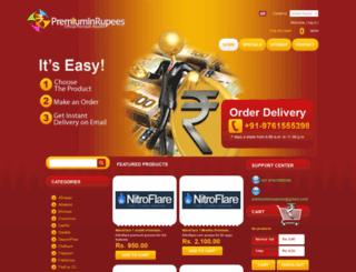 premiuminrupees.com screenshot