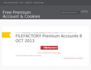 premiumism.blogspot.com screenshot