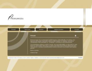 premiumkodu.ee screenshot