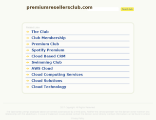 premiumresellersclub.com screenshot