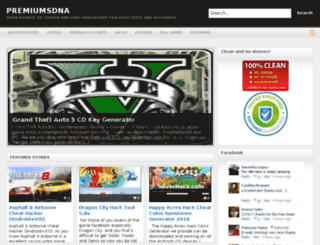 premiumsdna.com screenshot
