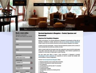 premiumservicedapartments.com screenshot