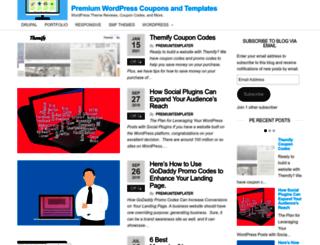 premiumtemplate.org screenshot