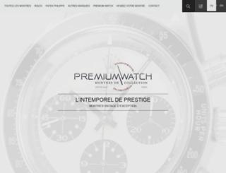 premiumwatch.fr screenshot