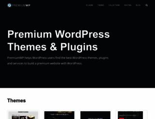 premiumwp.com screenshot