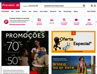 prenatal.pt screenshot
