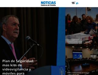 prensa.cba.gov.ar screenshot