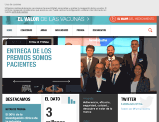 prensa.farmaindustria.es screenshot